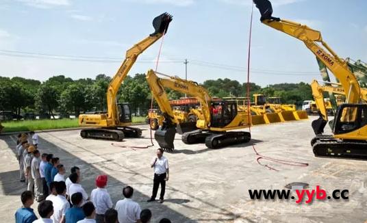 厦工首台出口北美挖掘机发车仪式开启