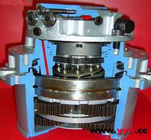 挖掘机行走马达工作原理科普_液压网_液压泵网_技术图片