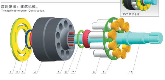 液压泵结构参数图