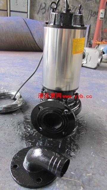 新型带切割自动搅匀潜水排污泵