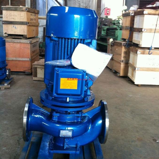 ISG单级立式管道离心泵厂家